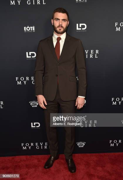 Actor Alex Roe attends the premiere of Roadside Attractions' 'Forever My Girl' at The London West Hollywood on January 16 2018 in West Hollywood...