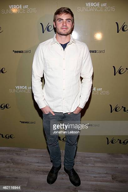 Actor Alex Roe attends the Verge Sundance 2015 Party at WireImage Studio on January 24 2015 in Park City Utah