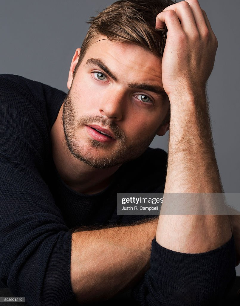 Actor Alex Roe for Just Jared on December 8, 2015 in Los Angeles, California. Photo by Justin R. Campbell/Contour by Getty Images)