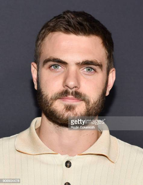 Actor Alex Roe of 'Siren' arrives at Freeform Summit on January 18 2018 in Hollywood California