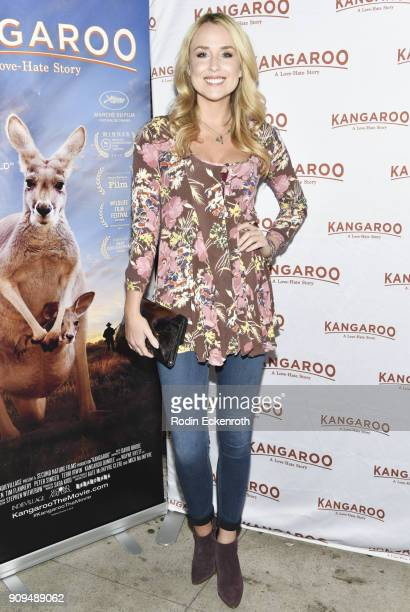 Actor Alex Rose Wiesel attends the premiere of Kangaroo at Laemmle Music Hall on January 23 2018 in Beverly Hills California