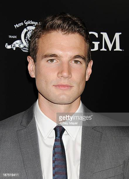 Actor Alex Russell arrives at the Los Angeles premiere of 'Carrie' at ArcLight Hollywood on October 7 2013 in Hollywood California