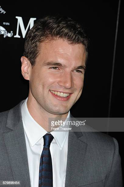 Actor Alex Russell arrives at the premiere of Carrie held at ArcLight Cinemas in Hollywood