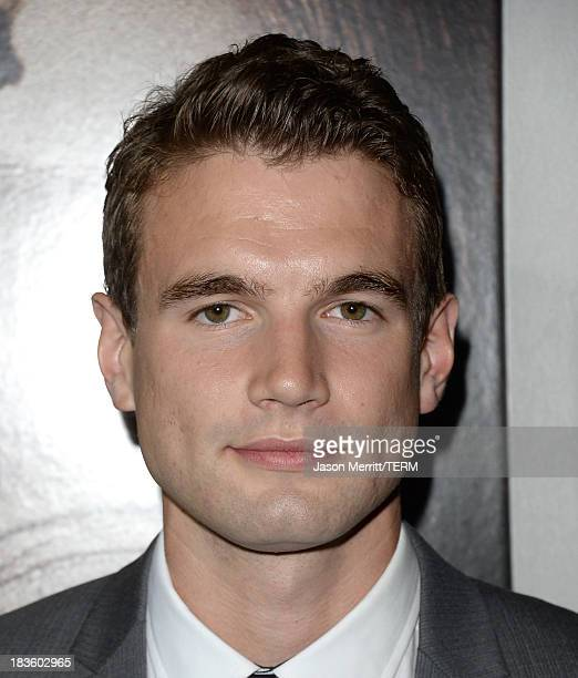 Actor Alex Russell arrives at the premiere of MetroGoldwynMayer Pictures Screen Gems' 'Carrie' at ArcLight Cinemas on October 7 2013 in Hollywood...