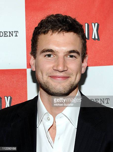 Actor Alex Russell arrives at the premiere of The Wheeler Boys during the 2010 Los Angeles Film Festival at Regal Cinemas at LA Live Downtown on June...