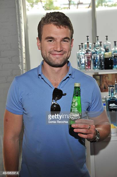 Actor Alex Russell attends the NKPR IT Lounge Portrait Studio With W Magazine Day 3 during the 2014 Toronto International Film Festival at NKPR...