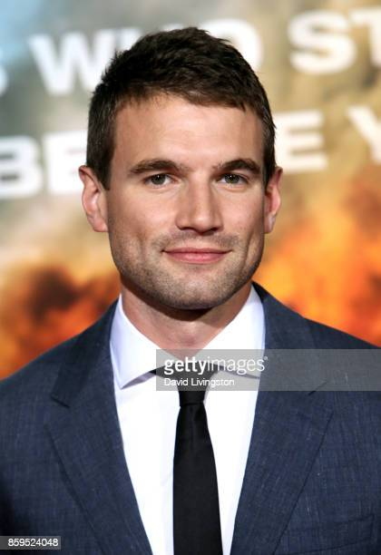 Actor Alex Russell attends the premiere of Columbia Pictures' Only the Brave at Regency Village Theatre on October 8 2017 in Westwood California