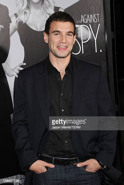 Actor Alex Russell attends the 'This Means War' Los Angeles premiere held at Grauman's Chinese Theatre on February 8 2012 in Hollywood California
