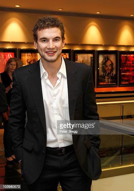 Actor Alex Russell attends the Wasted On The Young Premiere held at Varsity Cinemas during the 35th Toronto International Film Festival on September...
