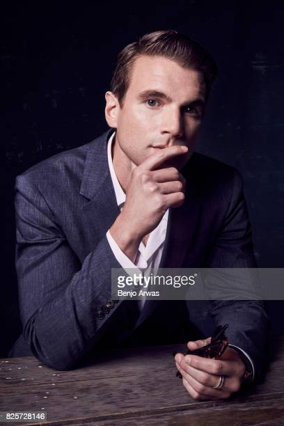 Actor Alex Russell of CBS's 'SWAT' poses for a portrait during the 2017 Summer Television Critics Association Press Tour at The Beverly Hilton Hotel...