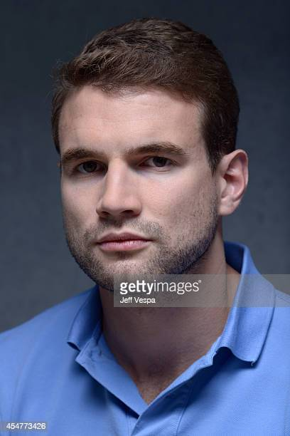 Actor Alex Russell of 'Cut Snake' poses for a portrait during the 2014 Toronto International Film Festival on September 6 2014 in Toronto Ontario