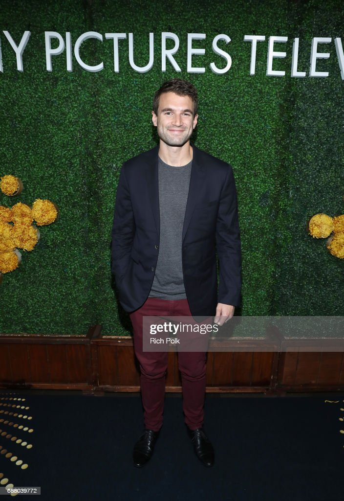"Actor Alex Russell, star of the new Sony Pictures Television series ""S.W.A.T."", attend the Sony Pictures Television LA Screenings Party at Catch LA on May 24, 2017 in Los Angeles, California."