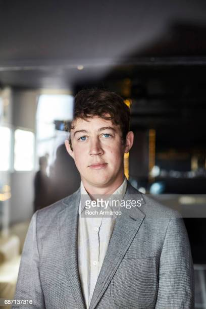 Actor Alex Sharp is photographed on May 22 2017 in Cannes France