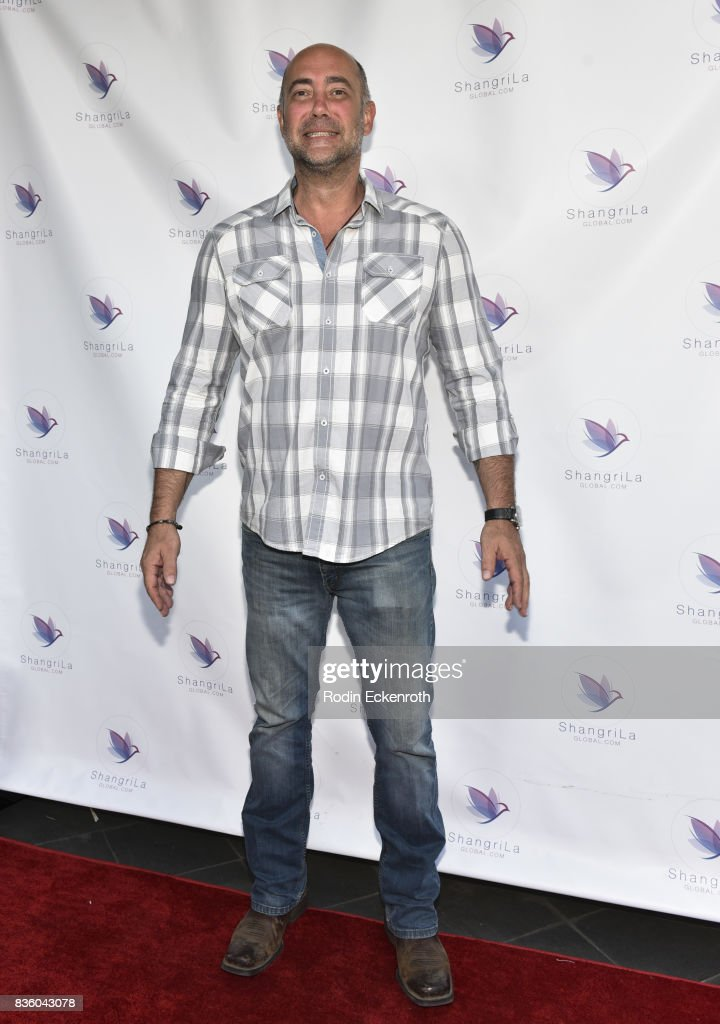 Actor Alex Skuby attends the ShangriLa global launch and pop-up store on August 20, 2017 in Beverly Hills, California.