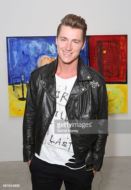 Actor Alex Sparrow attends Immovable Thoughts by artist Alexander Yulish With Media Partner Interview Magazine at the Ace Gallery on October 8 2015...