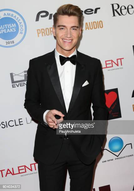 Actor Alex Sparrow attends the Gifting Your Spectrum gala benefiting Autism Speaks on February 24 2018 in Hollywood California