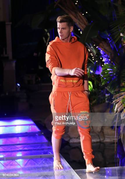 Actor Alex Sparrow walks the runway at the Gifting Your Spectrum gala benefiting Autism Speaks on February 24 2018 in Hollywood California