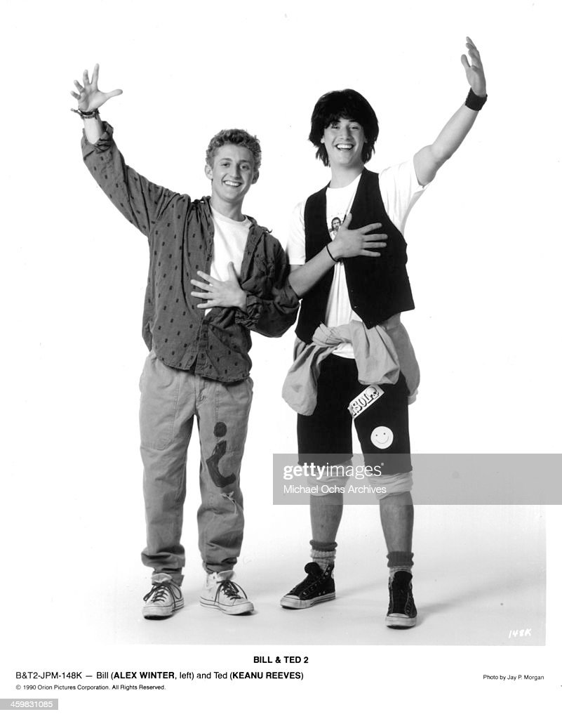BILL & TED'S EXCELLENT ADVENTURE : News Photo