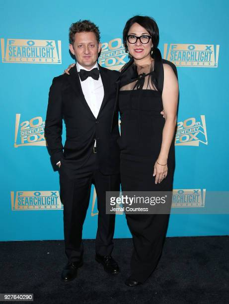 Actor Alex Winter and Ramsey Ann Naito attend the Fox Searchlight And 20th Century Fox Oscars PostParty on March 4 2018 in Los Angeles California