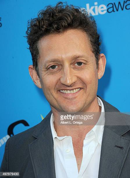 Actor Alex Winter arrives for the 3rd Annual Geekie Awards held at Club Nokia on October 15 2015 in Los Angeles California