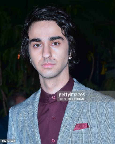Actor Alex Wolff arrives for the premiere of 'Jumanji Welcome to the Jungle' in Hollywood California on December 11 2017 / AFP PHOTO / FREDERIC J...