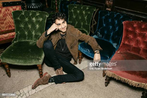 Actor Alex Wolff is photographed for The Hollywood Reporter on October 22 2016 in New York City PUBLISHED IMAGE