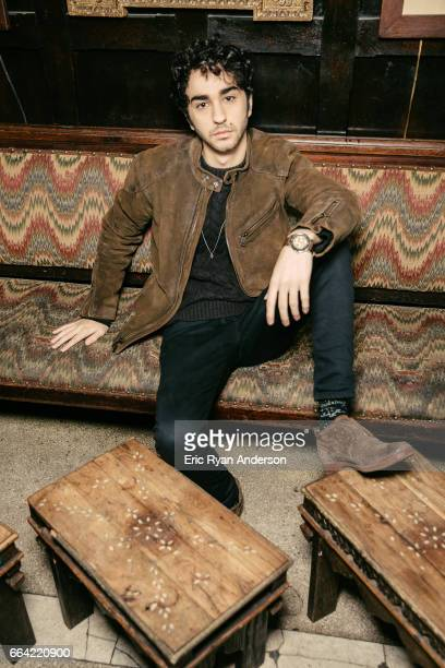 Actor Alex Wolff is photographed for The Hollywood Reporter on October 22 2016 in New York City