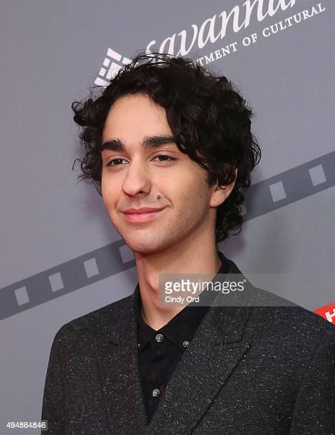 Actor Alex Wolff poses for a photo prior to QA for Coming Through the Rye at Lucas Theatre during Day Six of 18th Annual Savannah Film Festival...