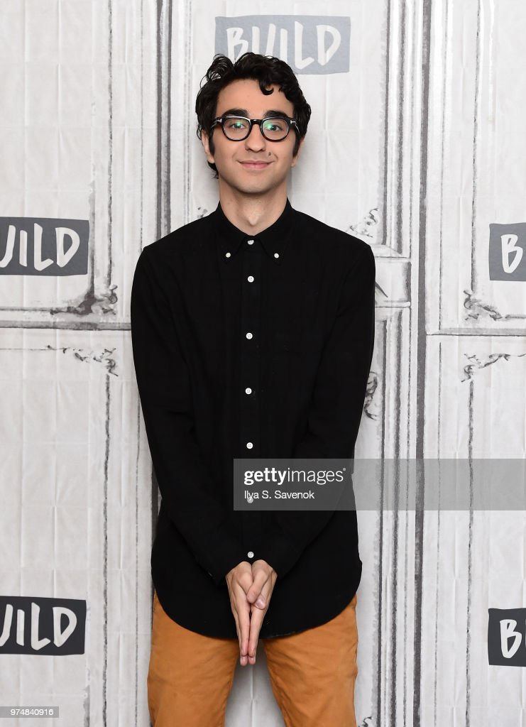 Actor Alex Wolff visits Build Series to promote 'Hereditary' at Build Studio on June 14, 2018 in New York City.