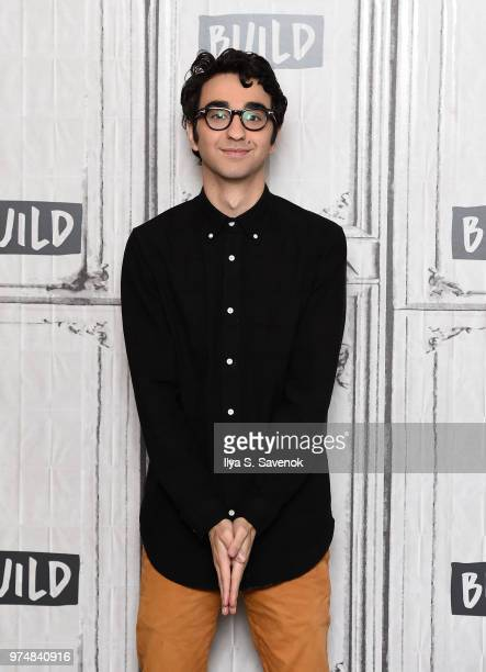 Actor Alex Wolff visits Build Series to promote 'Hereditary' at Build Studio on June 14 2018 in New York City