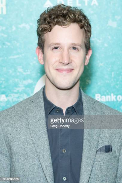 Actor Alex Wyse arrives at the Opening Night Of 'Bright Star' at Ahmanson Theatre on October 20 2017 in Los Angeles California