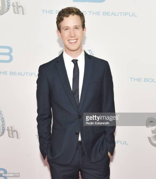 Actor Alex Wyse attends CBS's 'The Bold and The Beautiful' 30th Anniversary Party at Clifton's Cafeteria on March 18 2017 in Los Angeles California