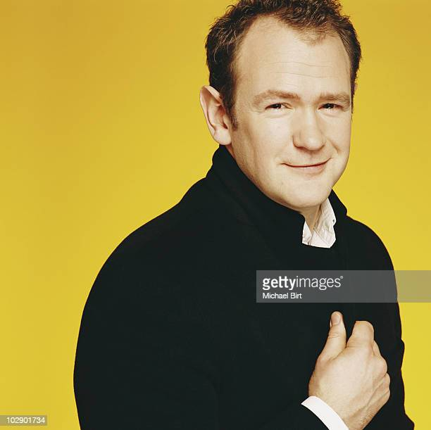 Actor Alexander Armstrong poses for a portrait shoot in London