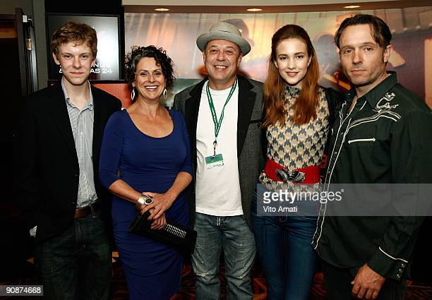 Actor Alexander De Jordy Actress Gabrielle Rose Director/Producer Rob W King Actress Alexia Fast and Actor John PyperFerguson attend the Hungry Hills...