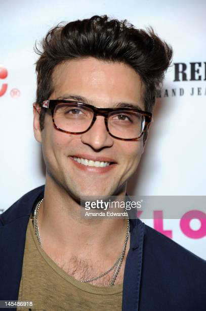Actor Alexander DiPersia arrives at the NYLON Magazine June/July Music Issue Launch Party With Shirley Manson at The Roxy Theatre on May 30 2012 in...