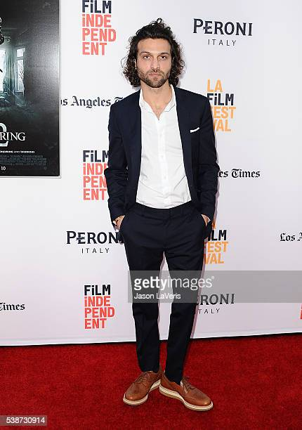 Actor Alexander DiPersia attends the premiere of The Conjuring 2 at the 2016 Los Angeles Film Festival at TCL Chinese Theatre IMAX on June 7 2016 in...