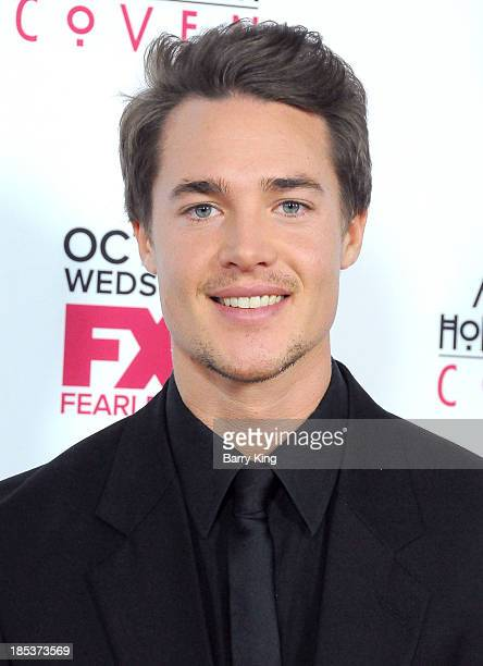 Actor Alexander Dreymon arrives at the premiere of FX's 'American Horror Story Coven' on October 5 2013 at Pacific Design Center in West Hollywood...