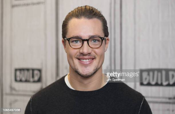 Actor Alexander Dreymon attends the Build Series to discuss 'The Last Kingdom' at Build Studio on November 26 2018 in New York City