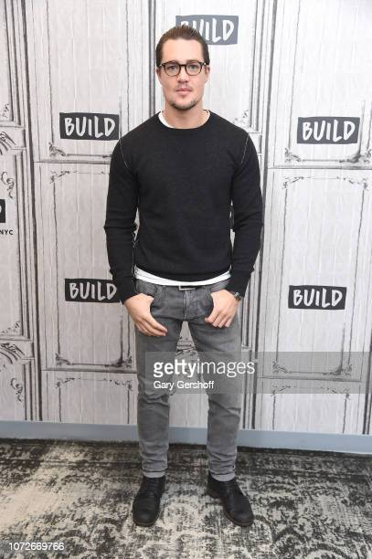 Actor Alexander Dreymon visits Build Series to discuss the BBC America series 'The Last Kingdom' at Build Studio on November 26 2018 in New York City