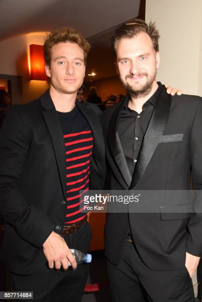 Actor Alexander Fehling and director Jan Zabeil attend the Paris Premiere of 'Three Peaks' as part of 22 th German Film Festival Opening Ceremony...