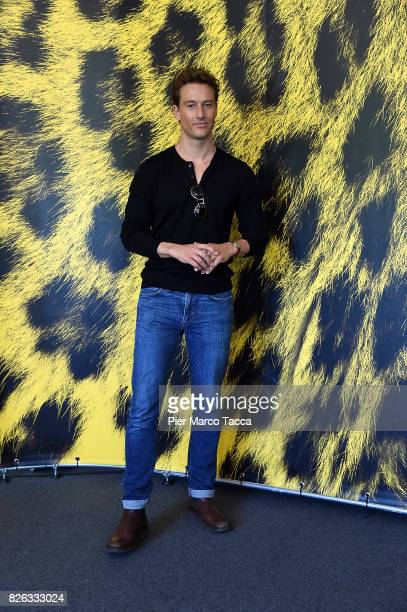 Actor Alexander Fehling attends a photocall during the 70th Locarno Film Festival on August 4 2017 in Locarno Switzerland
