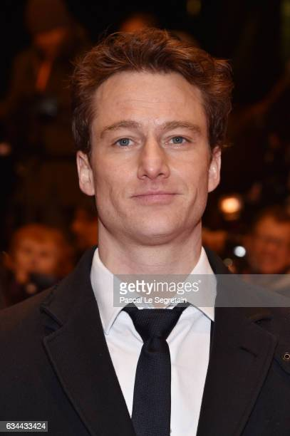 Actor Alexander Fehling attends the 'Django' premiere during the 67th Berlinale International Film Festival Berlin at Berlinale Palace on February 9...