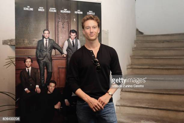 Actor Alexander Fehling attends the German Reception during the 70th Locarno Film Festival on August 4 2017 in Locarno Switzerland