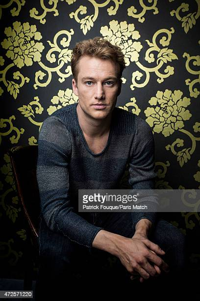 Actor Alexander Fehling is photographed for Paris Match on April 14 2015 in Paris France