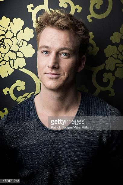 Actor Alexander Fehling is photographed for Paris Match on April 14 2015 in Paris France