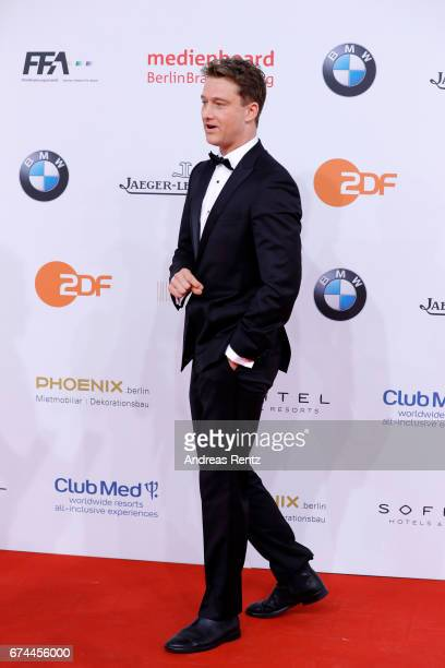 Actor Alexander Fehlinger attends the Lola German Film Award red carpet at Messe Berlin on April 28 2017 in Berlin Germany