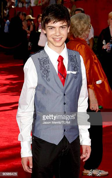 Actor Alexander Gould arrives at the 61st Primetime Emmy Awards held at the Nokia Theatre on September 20 2009 in Los Angeles California