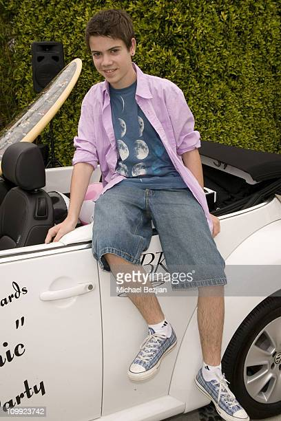 Actor Alexander Gould attends GBK's Pre MTV Pool Party Day 1 on May 29 2009 in Los Angeles California