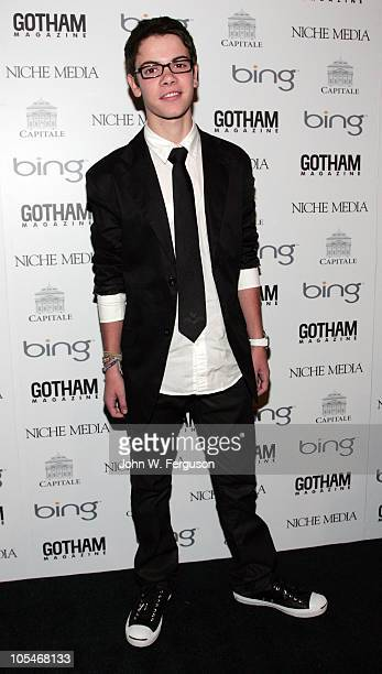 Actor Alexander Gould attends the 10th Annual Gotham Magazine Gala at Capitale on October 14 2010 in New York City