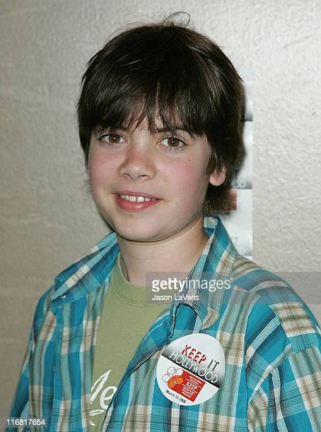 Actor Alexander Gould attends the World Kidney Day Event at the Universal Sheraton Hotel on March 13 2008 in Universal City California